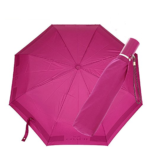 Carriage Automatic Umbrella Cranberry 63689
