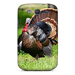 Flexible Tpu Back Case Cover For Galaxy S3 - Strutting Gobbler