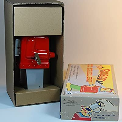 tin robot (MS645 red): Amazon.es: Hogar