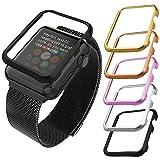 Apple Watch Case(42MM), Bandmax Lightweight Black Gun Plated Hard Protective Case for Apple Watch/Watch Sport/Watch Edition Accessories