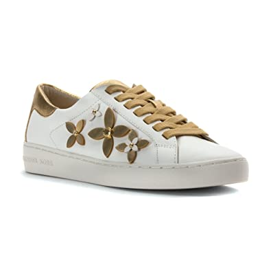 0c96042e529a Michael Kors Womens Lola Leather Low Top Lace Up Fashion