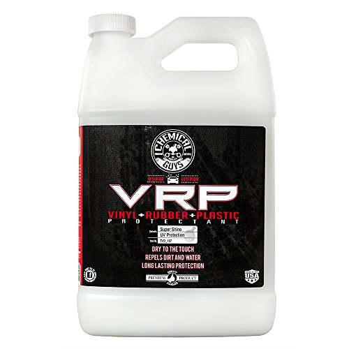 Chemical Guys TVD_107 V.R.P. Vinyl, Rubber and Plastic Non-Greasy Dry-to-the-Touch Long Lasting Super Shine Dressing for Tires, Trim and More (1 Gal) ()