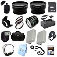 Advanced Professional SLR Kit: for Canon Rebel XSI, T1i, 450D SLR Cameras