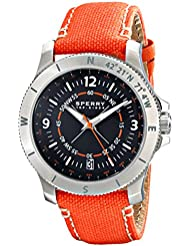 Sperry Top-Sider Mens 10018677 Explorer Analog Display Japanese Quartz Brown Watch