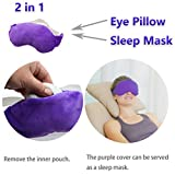 LotFancy-Lavender-Eye-Pillow-Sleep-Mask-Filled-with-Lavender-Flowers-and-Flax-Seed-Hot-or-Cold-Use-for-Yoga-Relaxation-Meditation
