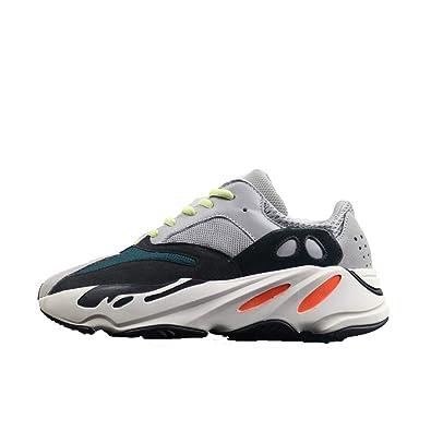 75432b248 Yeezy 700 Männer Laufschuhe Damen Atmungsaktiv Knit Trainingsschuhe  Laufsport Fitness Sportschuhe Sneakers (42 EU