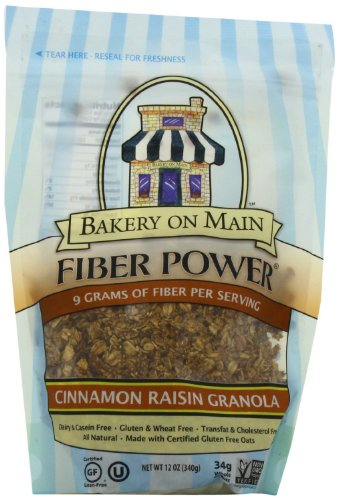 Bakery On Main Gluten-Free, Non GMO Granola, Cinnamon Raisin, 12-Ounce (Pack of 3)