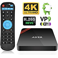 NEXBOX A95X Pro 1GB 8GB Android 6.0 TV Box S905X Quad-Core 4K HDR Ultra-HD H265 VP9 Ethernet WiFi SPDIF IR Remote
