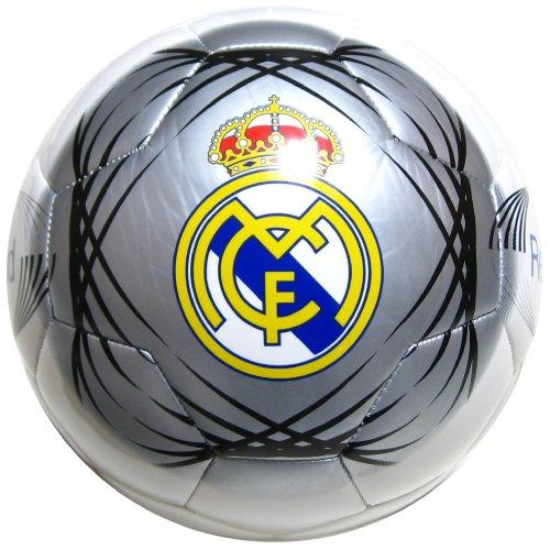 레알 마드리드 (REAL MADRID) 4 호 합피 축구 공 컬러 / 실버 화이트
