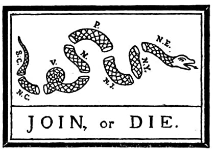 Amazon Flag Us Join Or Die Snake Colonies Of The