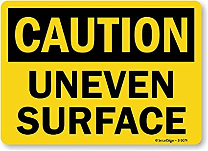Image result for uneven surface