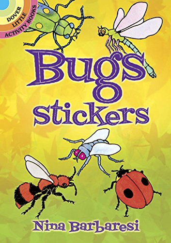 - Bugs Stickers (Dover Little Activity Books Stickers)