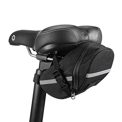 Bike Saddle Bag, Gobike MTB Bike Cycling Bicycle Strap-On Saddle Bag / Seat Bag