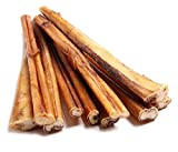 12-inch Bully Sticks (8-Pack) by Natural Raw Chef, Free Range & Natural