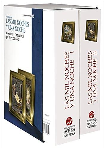 Estuche Las mil noches y una noches, Vol I-II Bibliotheca ...