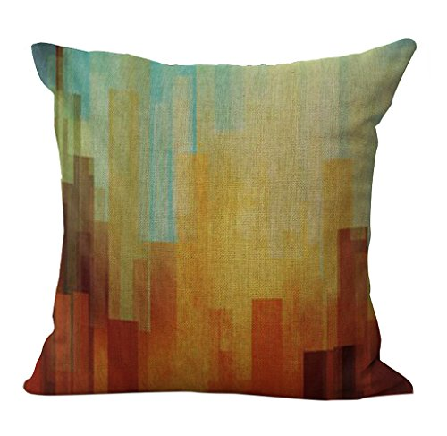 Abstract Colorful Geometry Pillowslip Decorative product image