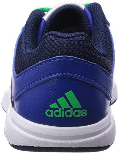 adidas LK Trainer 6 K - Zapatillas para niño Azul marino / Verde / Plata