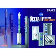 Delta II Rocket `GPS-IIR-16` on Launch Pad Diecast Model Spacecraft by Dragon Models USA