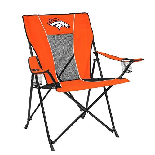 Logo Brands 10G NFL Denver Broncos Game Time Chair