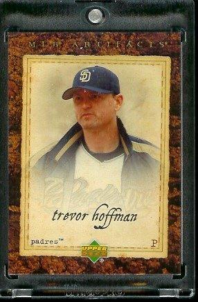 2007 Upper Deck Artifacts # 62 Trevor Hoffman San Diego Padres - Baseball Card (Trevor Hoffman Baseball)