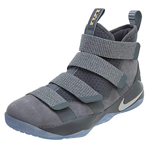 Nike Lebron Soldier XI Cool Grey/Pure Platinum Size 10 ()