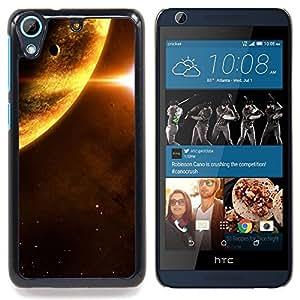 For HTC Desire 626 & 626s - Space Planet /Modelo de la piel protectora de la cubierta del caso/ - Super Marley Shop -