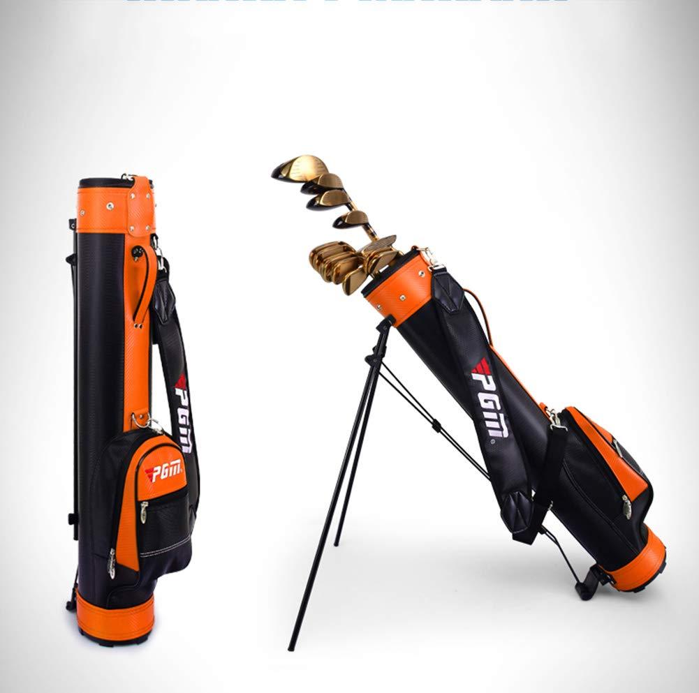 KANGLE El Bolso del Soporte del Golf con el Bolso del Arma del Soporte para los Hombres y Las Mujeres Puede sostener 9 Clubs, Bolso Ambiental Ultra Ligero ...
