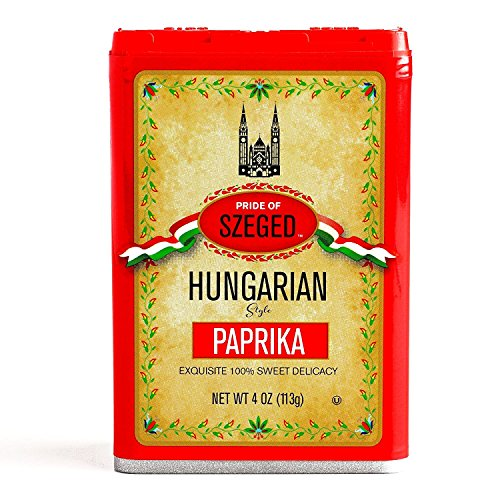 - Szeged Sweet Paprika Seasoning Spice 4oz (Pack of 2)