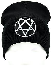 Heartagram HIM Ville Valo Beanie Knit Cap Alternative Clothing Gothic Gloom Rock