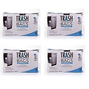 BestAir Trash Compactor Bags(16'' D. x 9'' W. x 17'' H,pack of 12) (4)