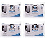 BestAir Trash Compactor Bags(16'' D. x 9'' W. x 17'' H,pack of 12) (4 pack)