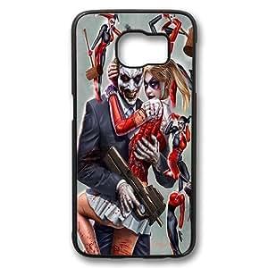 Samsung Galaxy S6 Case, Joker and Harley Quinn Hard Shell Case Back Cover for Samsung Galaxy S6 Polycarbonate Plastic Black by icecream design