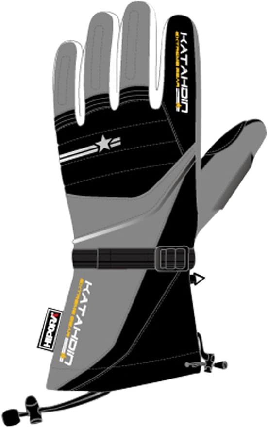 Katahdin Frostfire Snowmobile Gloves Gray