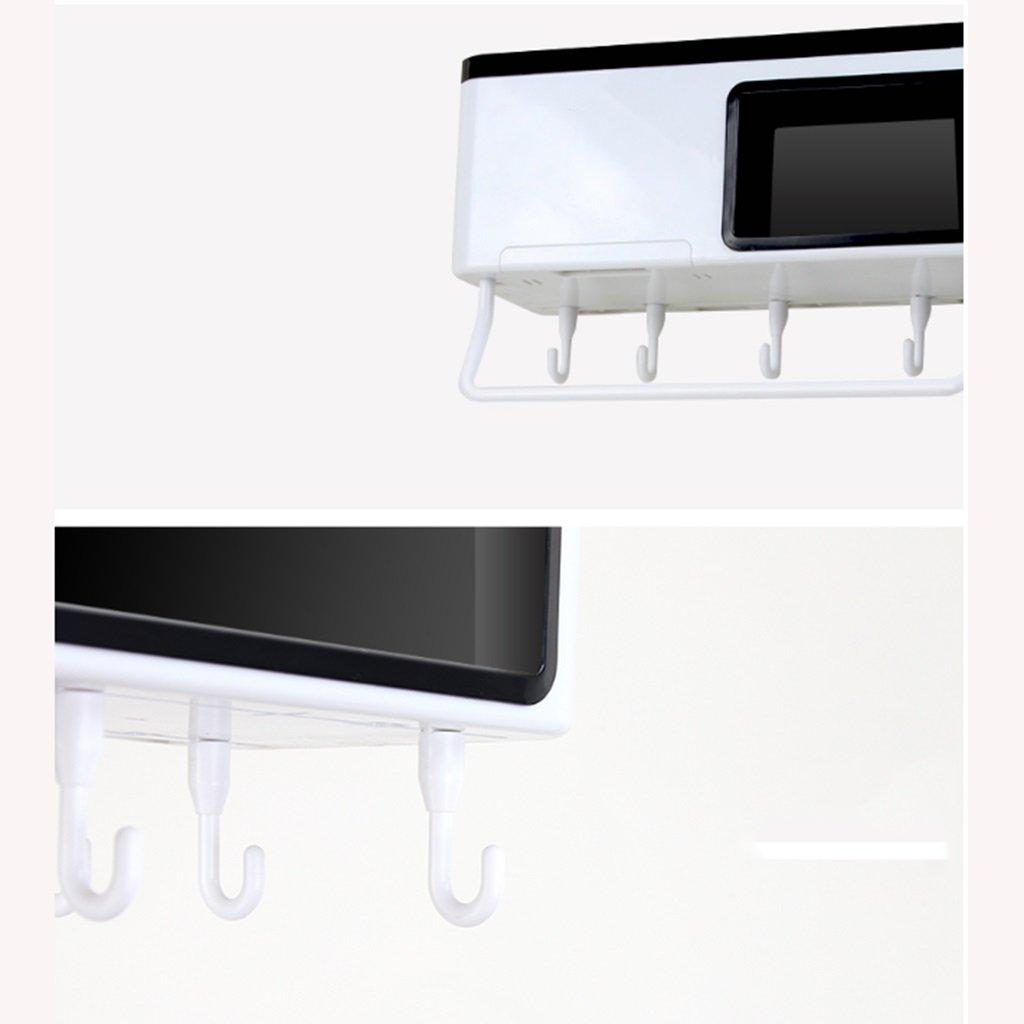 JiuErDP Punch-Free Küchenregale Hause Gewürz Aufbewahrungsbox Wand hängen Küche liefert Geräte Nagel-freie Anhänger Rack Aufbewahren & Ordnen größe : A Regale & Ablagen