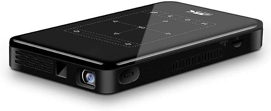 Lazmin Mini Smart DLP Pocket Projector, Full HD 4K 1080p 3000lm ...