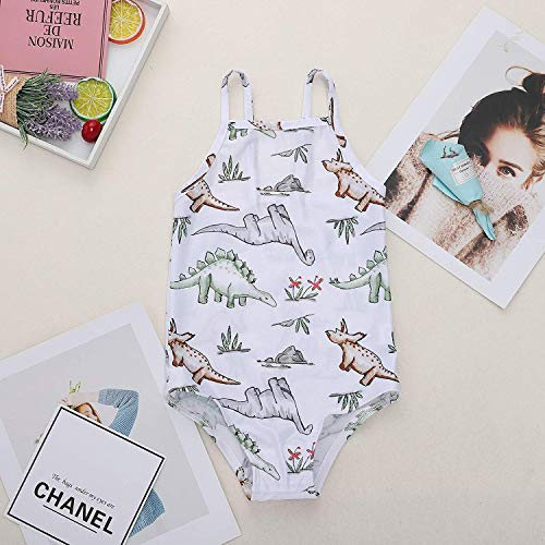 LYSMuch Infant Toddler Baby Girls Swimwear One Piece Striped Beach Swimsuits Bathing Suit