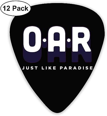 REMO. - Just Like Paradise Púas de guitarra eléctrica (paquete de ...