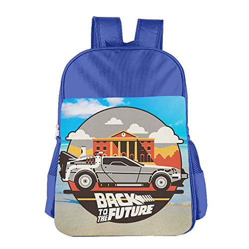 Back To The Future Children's School Bag For 4-15 Years Old (2 Colors) RoyalBlue