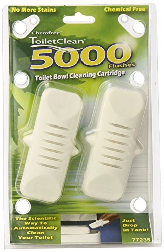 Toiletclean Chemical-Free Toilet Bowl Cleaner, 2 Count