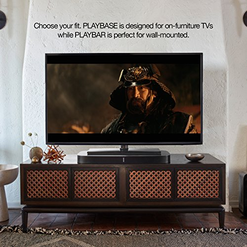 Sonos PLAYBASE Wireless Soundbar for Home Theater and Streaming Music (Black) - 3
