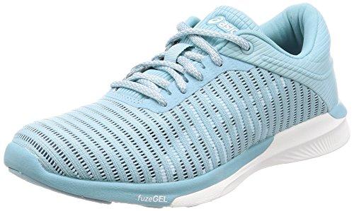 Turquoise Rush FuzeX Asics Porcelain Blue de Femme Bluewhitesmoke 1401 Running Adapt Chaussures 0CnRdn