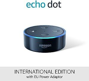 Amazon Echo Dot (2. Generation), schwarz – Internationale