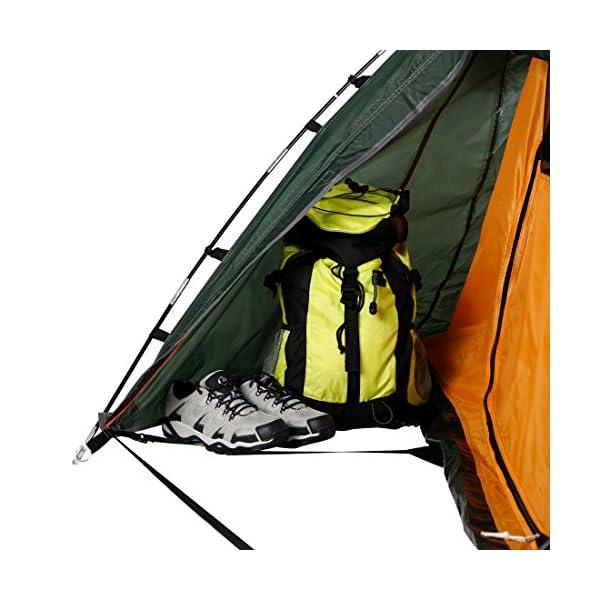 Ultrasport Tienda de campaña adecuada para festivales, camping y trekking, se entrega con bolsa de transporte… 4