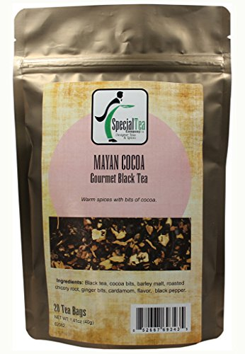 Price comparison product image Special Tea Black Tea Bags,  Mayan Cocoa,  1.41 Ounce