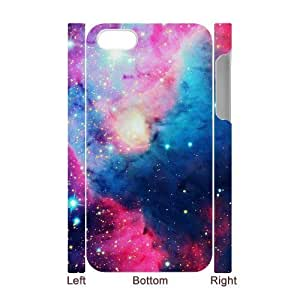 Galaxy Space Universe Unique Design 3D Cover Case for Iphone 4,4S,custom cover case ygtg553947