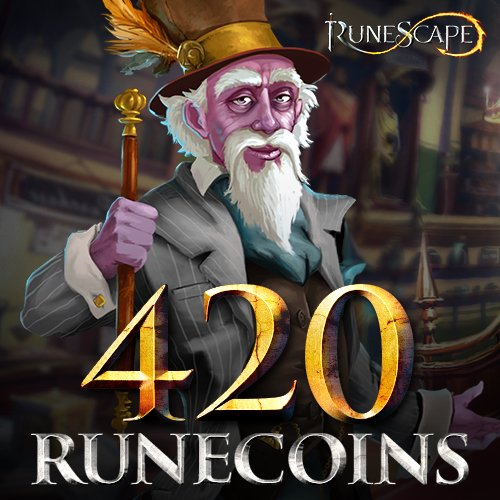 420 RuneCoins: RuneScape [Instant Access] by Jagex Games Studio
