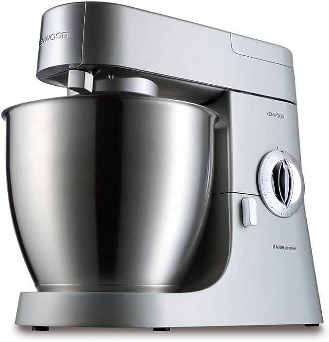 KENWOOD KMM770 Premier Major, Robot de cocina, 2 velocidades, 1200 w, acero inoxidable: Amazon.es: Hogar
