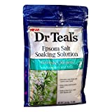Dr. Teal's Epsom Salt Soaking Solution Rosemary and Mint, 3 Pound