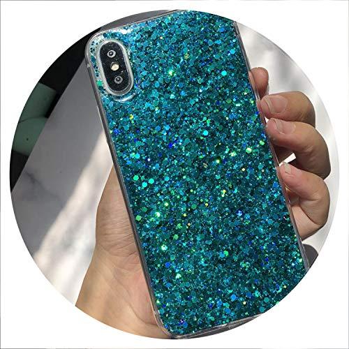 (Bling Glitter Crystal Sequins Phone Case for Huawei P Smart P20 Mate 10 Pro P10 P8 P9 Lite 2018 Nova 2S 2i 3i Honor 8 9 10 Case,Blue,for Honor 9)