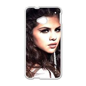 Selena Gomez Pattern Plastic Case For HTC M7